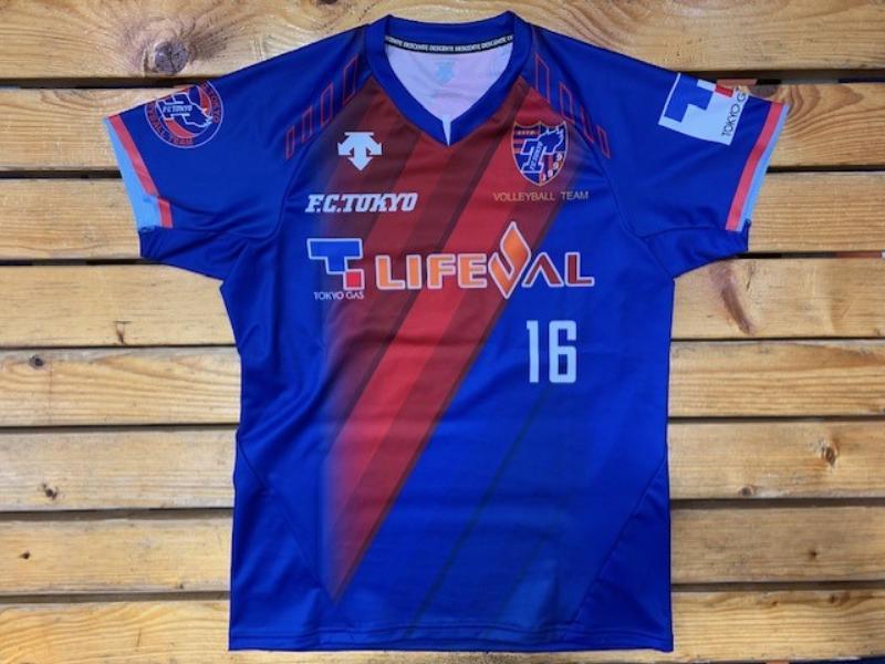 FC東京バレーボールチームVリーグ2020-21シーズンレプリカ ...